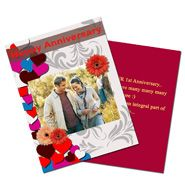 Anniversary Personalized Greeting Card
