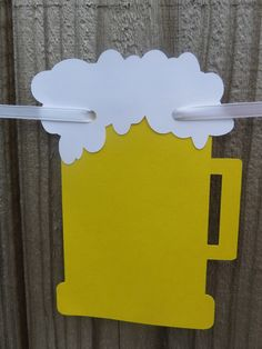 Beer Garland Beer Banner Baby Brewing The Perfect Brew St Beer Birthday Party, Happy Birthday Celebration, 40th Birthday Parties, Happy Birthday Banners, Dad Birthday, Birthday Decorations, Simpsons Party, Oktoberfest Party, Beer Gifts