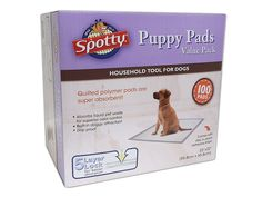 Royal Pet 100 Count Spotty Puppy Pads -- You can find more details by visiting the image link.