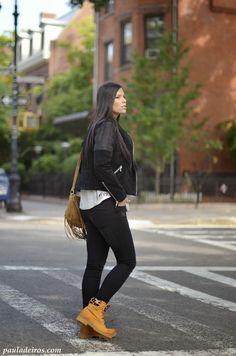 PAULA DEIROS SECRETS: In Brooklyn with my Panama Jack boots #kissmylook