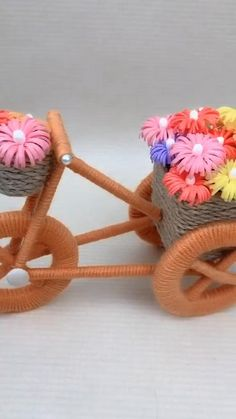 Diy Crafts For Home Decor, Diy Crafts Hacks, Diy Crafts For Gifts, Diy Crafts Videos, Creative Crafts, Diy Projects, Rope Crafts, Craft Stick Crafts, Yarn Crafts
