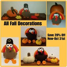 Are you looking for cute Fall Decorations? Checkout my 5 year anniversary sale and save 20% off now-Oct 31st!