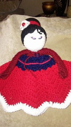 Mulan Princess Inspired Lovey Doll/Security by KathiKraftsBoutique