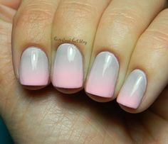 Lindsey @ Neverland Nails blog - I SWEAR, these look like the hands and nails of an angel!
