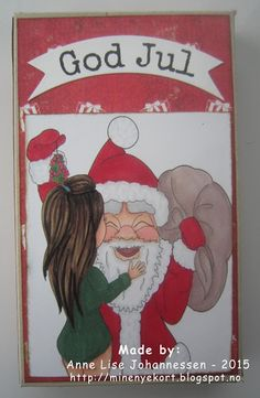 Today I want to show a card with image from Karleigh Sue . Be sure to look at all the other new and nice images while you are there :) You c. Chocolate Card, My Bookmarks, Gift Bags, Boxes, Baseball Cards, Nice, Gifts, Crates, Presents