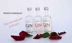 Why we love MINIS - Triple Three Estate Distillery gin blog on why miniature craft gin bottles are the best. Gin Bottles, Vodka Bottle, Gin Miniatures, Craft Gin, Miniature Crafts, Distillery, Minis, Berries, Bar