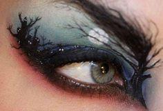 Cool #Halloween #makeup idea
