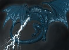 lightning dragon | Electric Dragon by ~LauraRamirez on deviantART