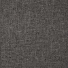 """Ramtex Zuma Slubbed Linen Blend Charcoal from @fabricdotcom  Stylish and very versatile this soft, supple polyester/linen fabric has a slubbed texture and a """"burlap"""" appearance. This heavyweight fabric is perfect for window treatments (draperies, curtains), accent pillows, duvet covers, upholstery and also apparel such as skirts, pants, dresses and jackets. This fabric has 50,000 double rubs."""
