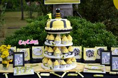 Bumblebee Birthday Party #bumblebee #party