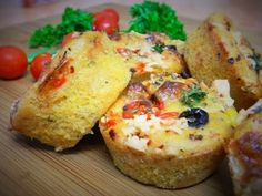 Pizza Cupcakes / Savoury Muffins / Homemade & Eggless Muffins - By Food Connection - YouTube