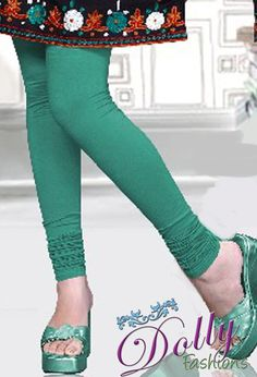 Soft 4-way Lycra Stretchable Legging in Turquoise
