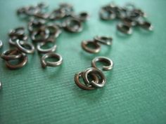 vintaj brass jump rings 24 pieces 6 mm by desertdatura on Etsy (Craft Supplies & Tools, Jewelry & Beading Supplies, Findings & Hardware, Jump & Split Rings, vintaj brass, jump rings, components, vintaj jump rings, jewelry supply, vintaj components, raw brass, jewelry components, vintaj supply)
