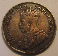 Penny - 1936 Union of south Africa 1 Penny XF+ for sale in Malelane (ID:284114522)