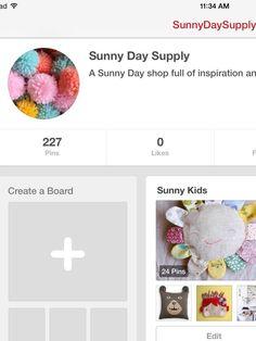 A great Pinterest to follow!