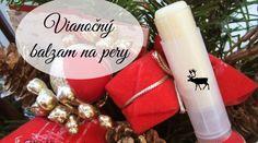 DIY: Prírodný vianočný balzam na pery | BioBlogerinas.sk