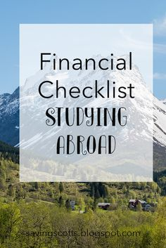 Are you considering studying abroad as part of your degree? Here are some important questions you need to ask before determining if you can afford to study abroad.