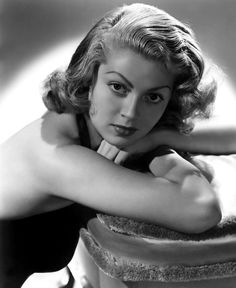 lana turner | 1940s | #vintage #1940s #hair #makeup