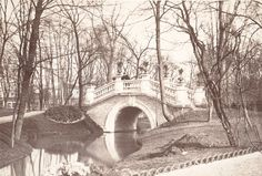 "Charles Marville, ""Parc Monceau, rivière et pont ( Monceau Park, River and Bridge)"" (ca. 1862) 