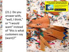 Do you know what your customers want, or do you just THINK you do? #custserv #cctr #CX #bigdata