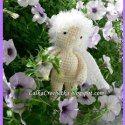 Lalka Crochetka: Flower Cupid / Kwiatowy Kupidyn via Saturday Link Party 5 - Rebeckah's Treasures