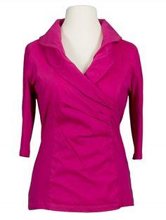 Damen Blusenshirt, pink von RESTART bei www.meinkleidchen.de
