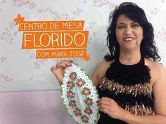 Centro de Mesa Florido com Maria José | Vitrine do Artesanato na TV - YouTube