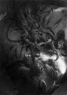 """Deathmaster Snikch"" __ Adrian Smith"