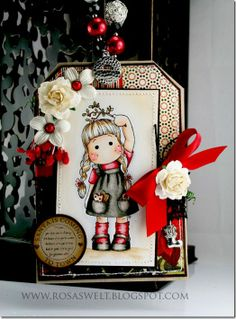 Tilda under the Mistletoe, So Jolly, Magnolia stamps