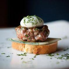 Lamb Burger ~ Molecular Gastronomy