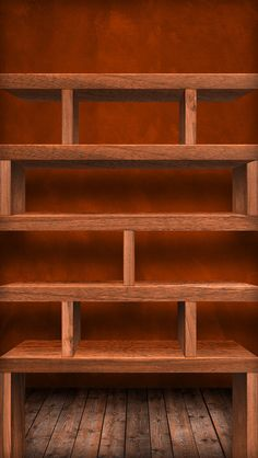 iPhone 5 home wallpaper shelf/shelves
