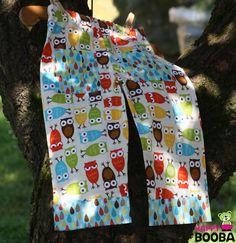 Funny Owls BABY BOY PANTS for your little rascal