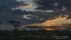 Sunset, Olturot, Marsabit, Northern Kenya.