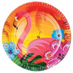 Hawaii wegwerp bordjes. Hawaii of tropisch feestje? Bij Fun en Feest vind je de leukste Hawaii feestartikelen, versiering en decoratie.