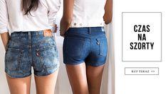 #szorty #denim #jeanspl #levis