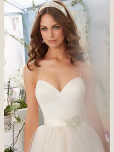 Image result for shoe string strap wedding gown