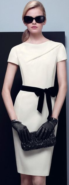 Black and white fashion ♥✤ | Keep the Glamour | BeStayBeautiful