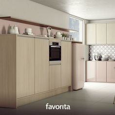 O estilo vintage nos remete ao que é belo, delicado, com um ar antigo. Essa cozinha Favorita, com os padrões Vicenza e Lacca Rosa, tem tudo a ver com a proposta. Quem curte? #kitchen #decor #vintage #inspiration #Favorita