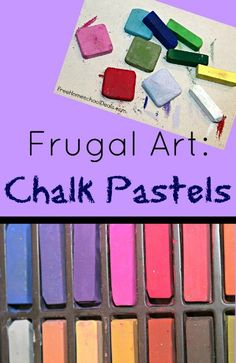 One inexpensive method I've discovered is chalk pastel art.
