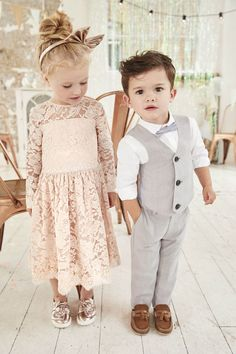 River Island Flower Girls and Summer Suits collection for SS18 | Flower girl and page boy outfits | bridemagazine.co.uk