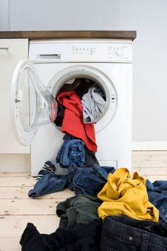 Dryer lint is a leading cause of 3,000 residential dryer fires and $35 million in property damage each year. But such fires are easy to avoid. First, remove lint from the screen after each use. Twice a year, grab a bendable dryer-vent brush, run it down the inside of the lint trap, and then vacuum up any remaining lint and dirt. Finally, detach and vacuum out the dryer duct.