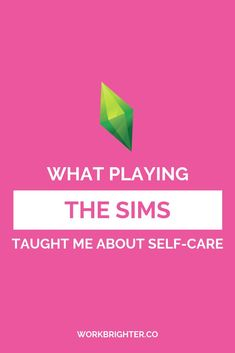 What The Sims Taught Me About Self-Care & Productivity - I've played The Sims most of my life, but it wasn't until revisiting it as a recovering workaholic that I saw the hidden self-care lesson in it. Business Branding, Business Tips, Online Business, I Need To Know, Community Manager, Pinterest For Business, Take Care Of Me, Stressed Out, Management Tips