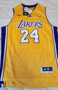df1d1b4b6fd Kobe Bryant - Throwback  24 Laker s Jersey - Swingman Adidas - Xl Men from   44.99