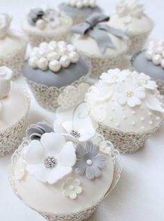 Grey & White Wedding Foods-5