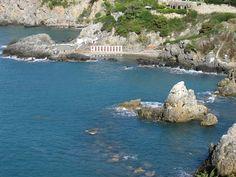 Sea in Talamone (Italy) - Orbetello