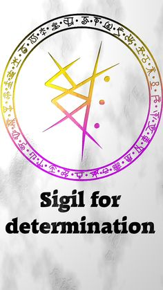 Sigil for determinationSigil requests are closed. For more of my sigils go here: https://docs.google.com/spreadsheets/d/1m9vUCQcK8uX8O8yRoSHMkM9kKydBukSTKpO1OdWwCF0/edit?usp=sharing