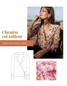 10 inspirations projets couture pour le printemps 2020 • Cha's Hands Doll Dress Patterns, Sewing Patterns Girls, Clothing Patterns, Shirt Patterns, Pattern Sewing, Sewing Machine Projects, Plus Size Sewing, Diy Vetement, Couture Tops