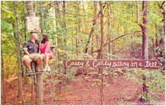 2 amoureux qui se balancaient Cute engagement photo idea
