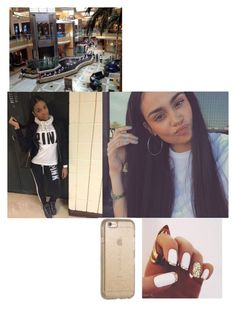 """""""🎀Kehlani🎀at the mall wit squad"""" by gamergirl247 ❤ liked on Polyvore featuring Victoria's Secret and Speck"""