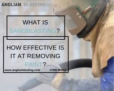 sandblasting involves spraying of a surface with small abrasive articles. While the operation is similar to sanding, it is different in that the interaction with the surface occurs at a very high speed. Wet Sandblasting, Lead Paint, Walnut Shell, Removal Services, Easy Paintings, Long Time Ago, Paint Cans, Working Area, High Speed